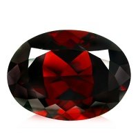 2.38ct Natural Spessartite Red Garnet Oval VS