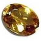 .58ct Natural Oval Golden Imperial Topaz VVS