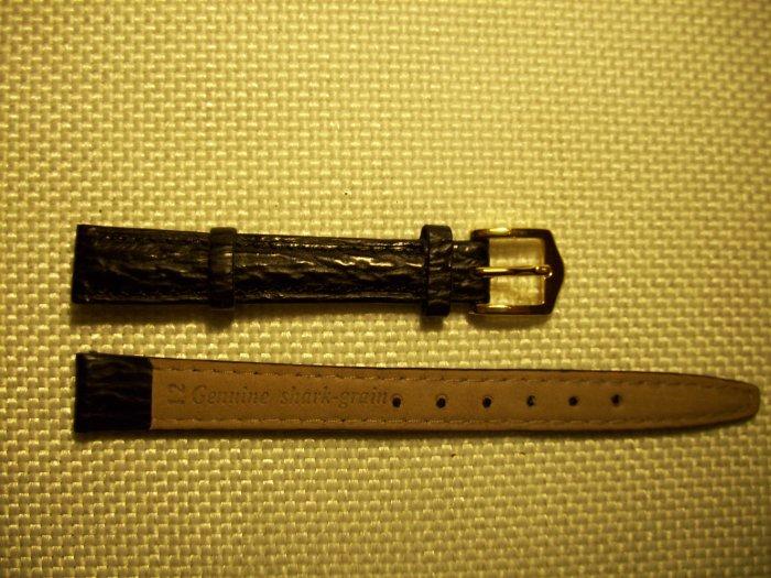 Genuine Shark Grain Women's Watchband Size 12mm