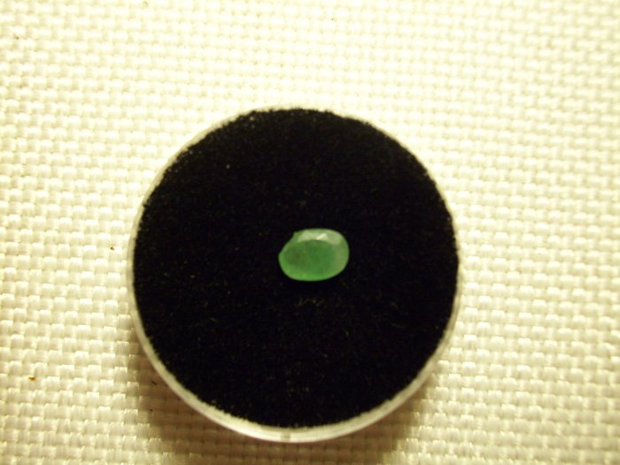 .53ct CHIPPED Natural Columbian Emerald SI - DEEP DISCOUNT