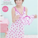 Alio Moon BEST quality 2-pieces set Cute ladies girl HOME DRESS Sleepwear underwear AM28