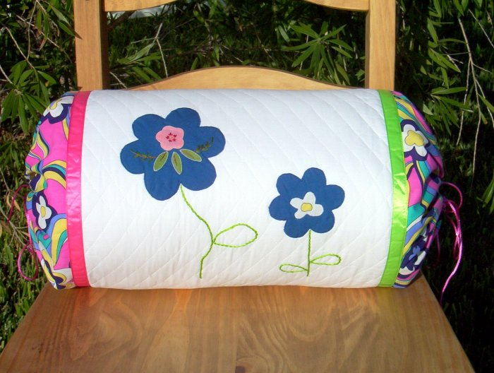 Vintage Flower Pillow