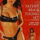 Zippy PVC Bra and Thong