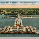 ST. PETERSBURGH, FLORIDA/FL POSTCARD, Million Dollar Pier