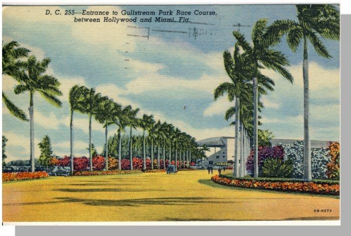 MIAMI, FLORIDA/FL POSTCARD, Gulfstream Park Race Course