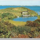 MARTHA'S VINEYARD MASS/MA POSTCARD, Menemsha Pond/Cape Cod
