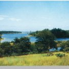 MARTHA'S VINEYARD, MASS/MA POSTCARD, Tashmoo Lake/Cape Cod