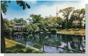 Sandwich, MASS/MA POSTCARD, Mill Pond, Cape Cod