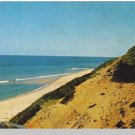 TRURO, CAPE COD, MASS/MA POSTCARD, Sand Dune/Highland Light