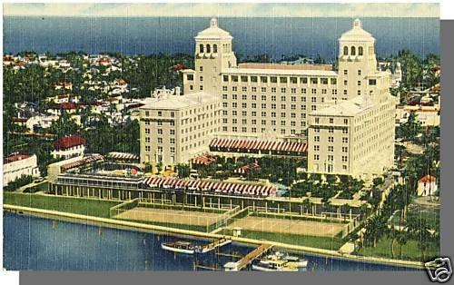 PALM BEACH, FLORIDA/FL POSTCARD, Palm Beach Biltmore