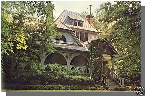 ATLANTA, GEORGIA/GA POSTCARD, Wren's Nest, Joel Harris