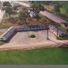 BREWER, MAINE/ME POSTCARD, Village Green Motel, Aerial