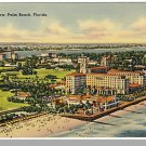Beautiful PALM BEACH, FLORIDA/FL POSTCARD, Aerial View