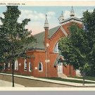 Nice ABINGDON, VIRGINIA/VA  POSTCARD, Methodist Church
