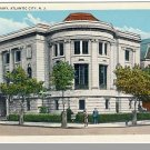 ATLANTIC CITY, NEW JERSEY/NJ POSTCARD, Carnegie Library