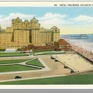 ATLANTIC CITY, NEW JERSEY/NJ POSTCARD, Hotel Traymore