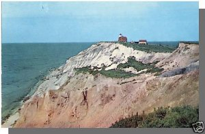 MARTHA'S VINEYARD MASS/MA POSTCARD, Gay Headlight,Cape