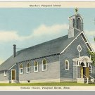 MARTHA'S VINEYARD, MASS/MA POSTCARD, Catholic Church