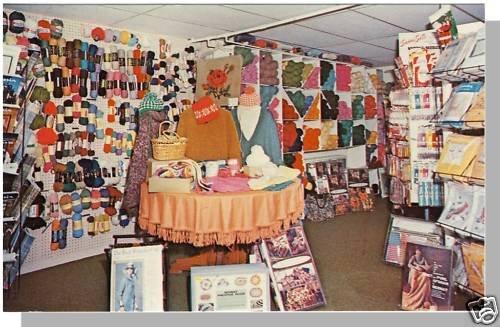 MANCHESTER, VERMONT/VT POSTCARD, Stamford Yarn Shop
