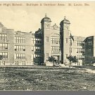 ST. LOUIS, MISSOURI/MO POSTCARD, Yeatman High School