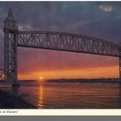 BUZZARDS BAY, MASS/MA POSTCARD,Railroad Bridge/Cape Cod