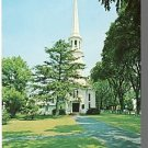 HARWICH, MASS/MA POSTCARD,First Congreg Church,Cape Cod