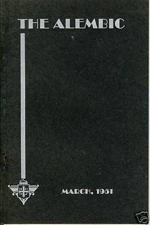 THE ALEMBIC,3/1951, PROVIDENCE COLLEGE, Rhode Island/RI