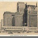 Early DALLAS, TEXAS/TX POSTCARD, Hotel Adolphus
