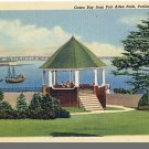 PORTLAND, MAINE/ME POSTCARD, Casco Bay/Fort Allen Park