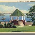 PORTLAND, MAINE/ME POSTCARD, Casco Bay/Fort Allen Park