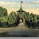 Nice DETROIT, MICHIGAN/MI POSTCARD, Mount at Belle Isle