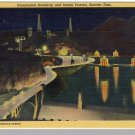 Striking NEVADA/NV POSTCARD, Boulder Dam Intake Tower