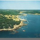 Nice FRIENDSHIP, MAINE/ME POSTCARD, Aerial View