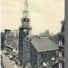 Early BOSTON, MASS/MA POSTCARD, Old South Church