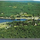 ALTON BAY, NEW HAMPSHIRE/NH POSTCARD, Aerial View