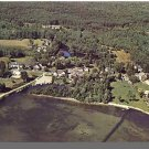 MELVIN VILLAGE, NEW HAMPSHIRE/NH POSTCARD, Aerial View