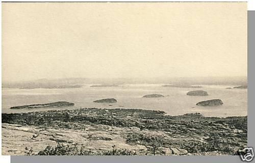 Nice BAR HARBOR, MAINE/ME POSTCARD, Porcupine Islands