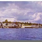 BOOTHBAY HARBOR, MAINE/ME POSTCARD, Waterfront Scene