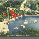 SILVER SPRINGS, FLORIDA/FLPOSTCARD, Aerial View, 1950