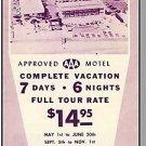 MIAMI, FLORIDA/FL BROCHURE, Sunny Isle Motel, 1950's?