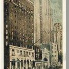 Beautiful NEW YORK/NY POSTCARD, Hotel Bristol, 1938
