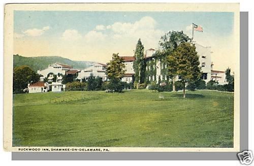 SHAWNEE-ON-DELEWARE, PENN/PA POSTCARD, Buckwood Inn