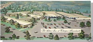 CHICOPEE, MASS/MA POSTCARD, The Schine Inn, Oversized