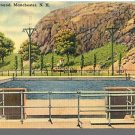 MANCHESTER, NEW HAMPSHIRE/NH POSTCARD, Municipal Pool