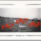 TIVERTON, RI PHOTO,1938 Hurricane,RR Bridge/Island Park