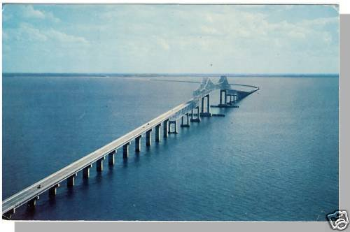 BRADENTON, FLORIDA/FL POSTCARD,Sunshine Skyway Bridge