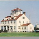 SANDWICH, MASS/MA POSTCARD,Coast Guard Station/Cape Cod