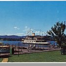 WOLFEBORO, NEW HAMPSHIRE/NH POSTCARD, Dock & Park