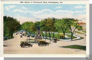 PHILADELPHIA, PENNSYLVANIA/PA POSTCARD, Fairmount Park