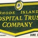 RI HOSPITAL TRUST CO DIME SAVER,Providence,Rhode Island